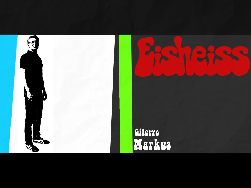 Markus - einer der Gitarristen von Eisheiss