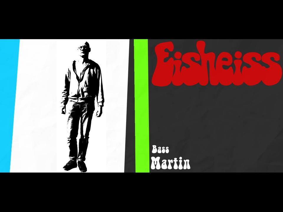 Martin - der Bassist von Eisheiss
